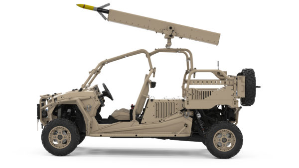 Arnold-Defense-FLETCHER-mounted-to-Polaris-MRZR-X