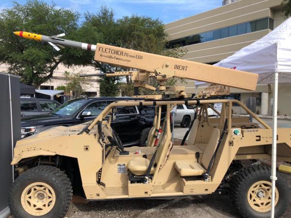 Arnold-Defense-FLETCHER-mounted-to-Polaris-Dagor