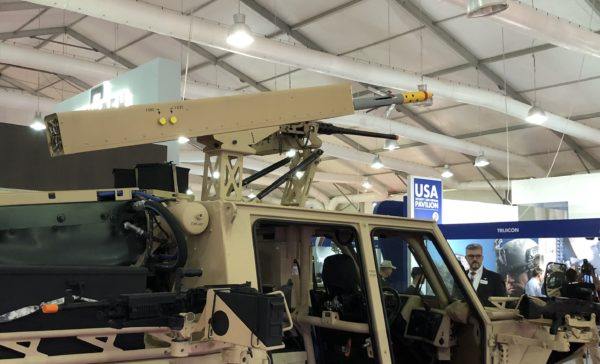 Arnold-Defense-FLETCHER-vehicle-mounted-laser-guided-rocket-launcher