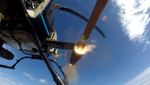Arnold-Defense-M260-launcher-fires-Thales-2.75-inch-rocket-from-helicopter-FINAL